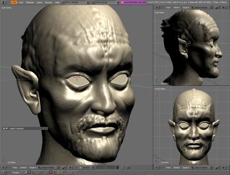 Exemplo de Modelo no Blender 3D